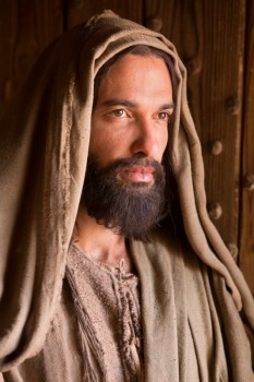 Haaz Sleiman as Jesus of Nazareth in National Geographic Channel's Killing Jesus.