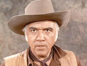 "Lorne Greene as Ben ""Pa"" Cartwright on ""Bonanza"""