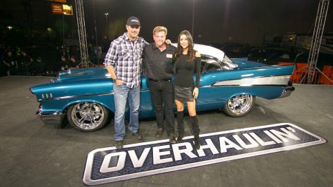 39 overhaulin 39 season finale to remake 1957 chevrolet bel. Black Bedroom Furniture Sets. Home Design Ideas