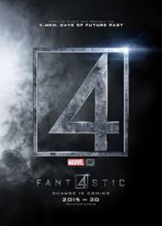 The fantastic four movie poster 2015