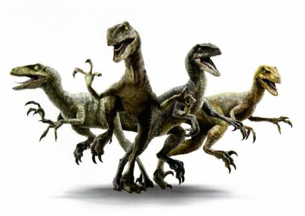 Jurassic World Raptor squad concept art photo
