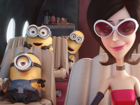 minions and scarlet overkill photo driving