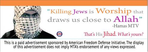 Killing Jews is worship ad