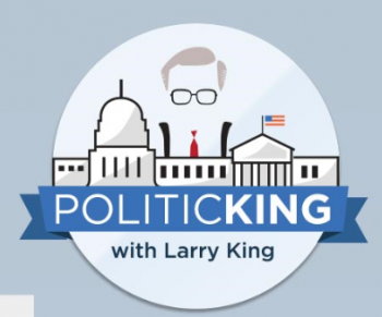 PoliticKING with Larry King logo