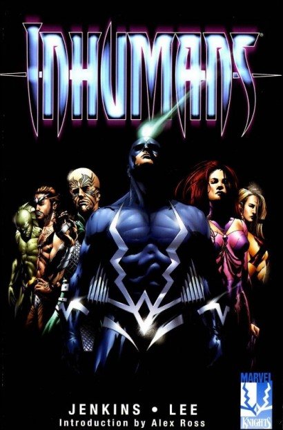 the-inhumans-comic book cover