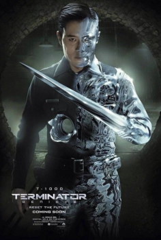 Byung-hun Lee Terminator Genisys poster