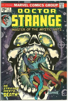 Doctor Strange Marve Comics vol 2 4 cover