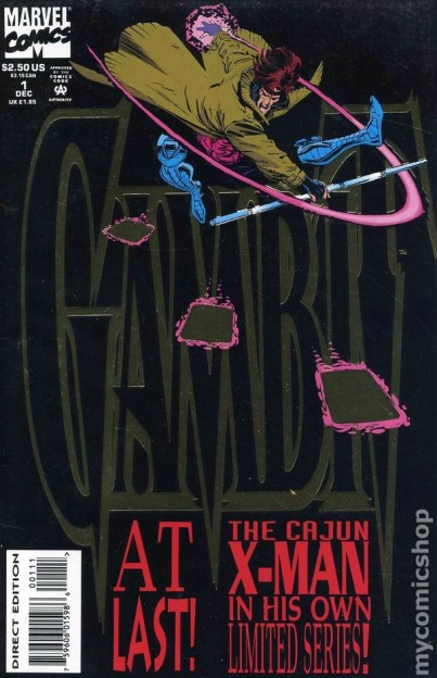 Gambit comic book 1993
