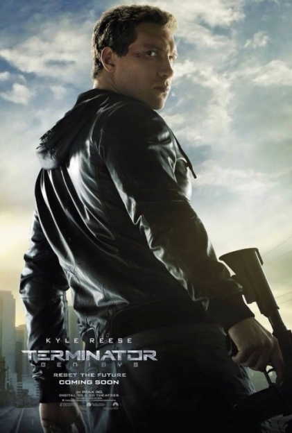 Jai Courtney Terminator Genesys poster