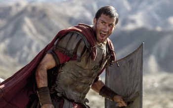 Clavius (Joseph Fiennes) leads his Roman soldiers during the zealot battle in TriStar Pictures' RISEN.