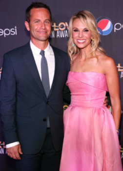 2015 K Love Awards co hosts Kirk cameron Elisabeth Hasselbeck