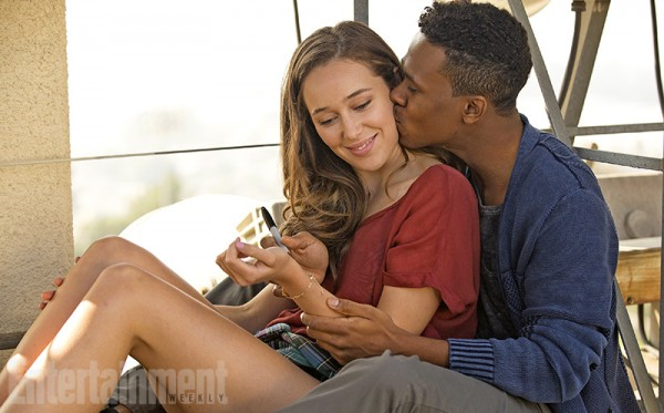 "Alycia Debnam-Carey and Maestro Harrell --""Fear the Walking Dead"" photo"