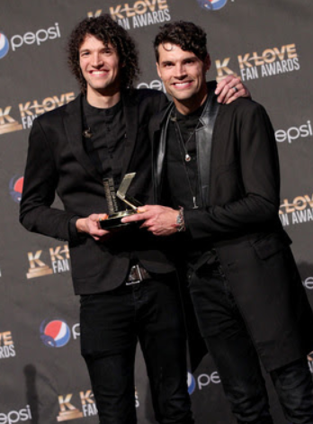 The Smallbones taking home a K Love Award in 2015