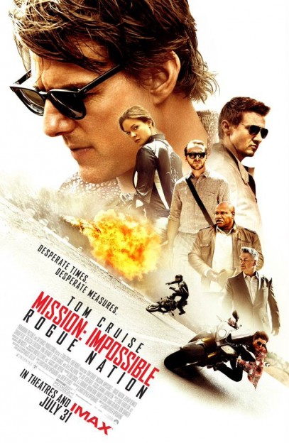 Mission Impossible Rogue Nation movie poster cast
