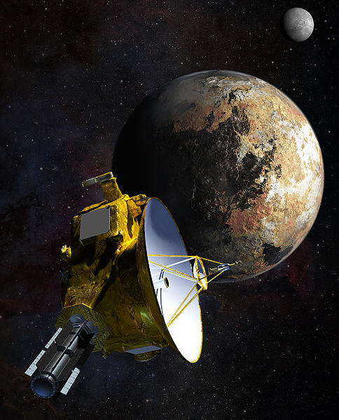 NASA's New Horizons Spacecraft Begins First Stages of Pluto Encounter  NASA concept art