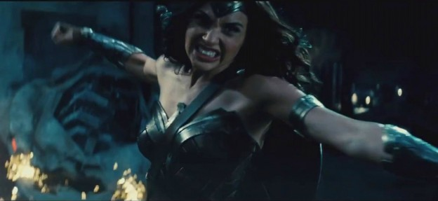 Gal Gadot as WOnder WOman batman-v-superman