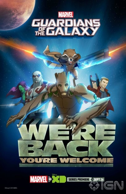 Guardians of the Galaxy animated series poster