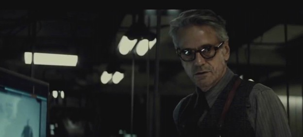"""Jeremy Irons as Alfred in """"Dawn of Justice"""""""