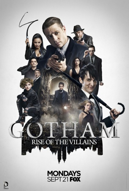 Gotham season 2 Batman villains cast photo