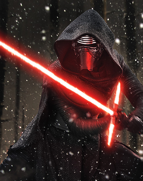Kylo Ren Star Wars Force Awakens photo