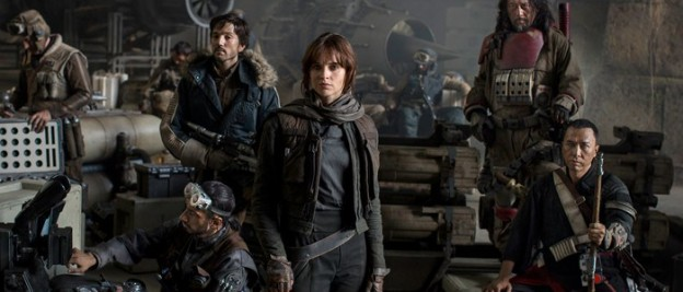 Star Wars Rogue One cast photo Felicity Jones