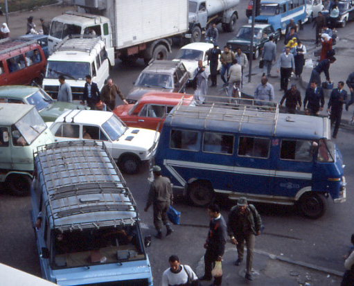 Traffic in Cairo Public domain image/-Immanuel Giel
