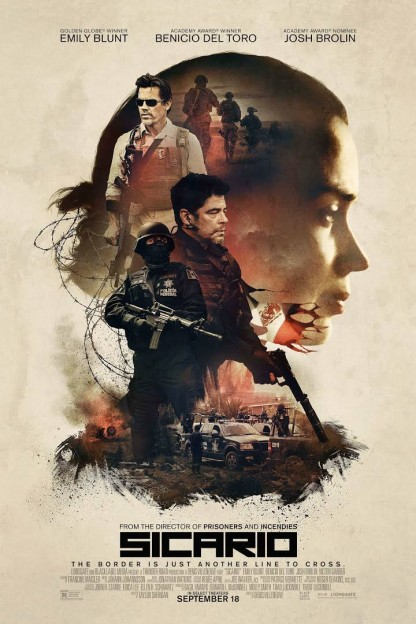 Sicario movie poster