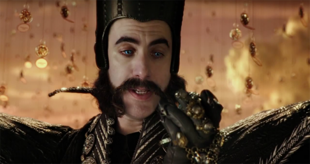Sacha Baron Cohen as Time in Alice Through the Looking Glass