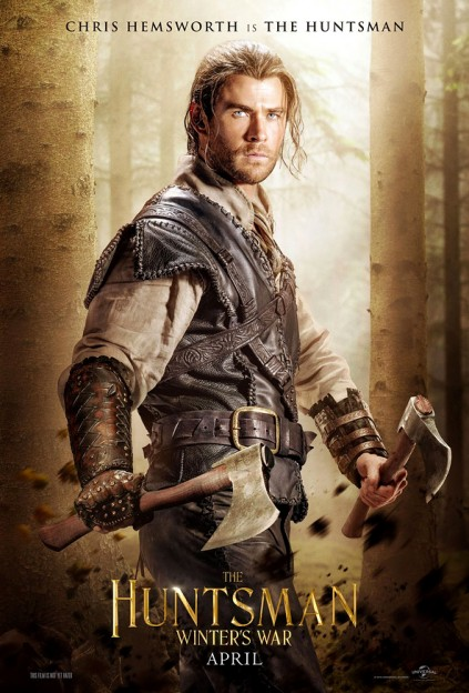 huntsman-winters war poster-chris hemsworth