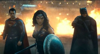 Batman V Superman Dawn of Justice trailer screenshot Henry Cavill superman Ben Affleck batman Wonder Woman gal gadot