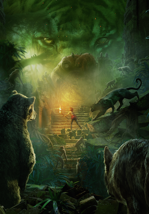 The Jungle Book movie poster living poster