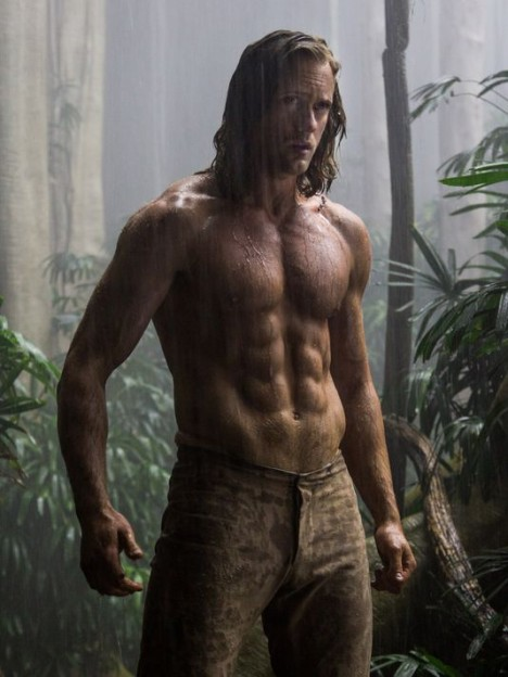 The Legend of Tarzan Alexander Skarsgard shirtless