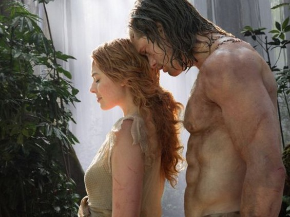 The Legend of Tarzan Margot RObbie Alexander Skarsgaard photo