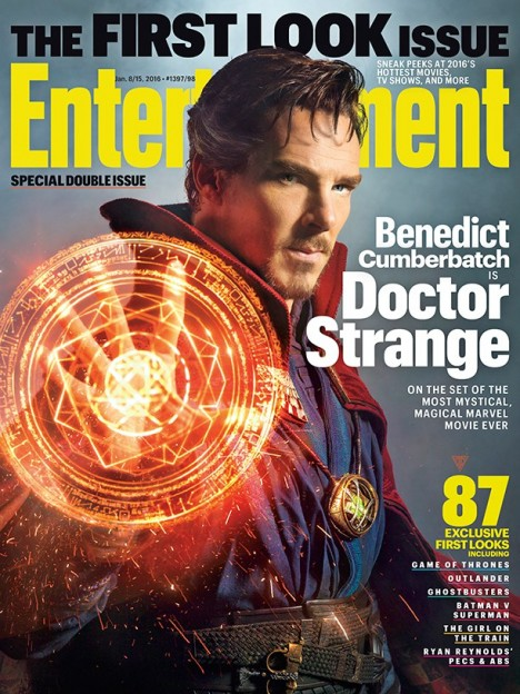 Doctor-Strange-first-look Benedict Cumberbatch EW cover