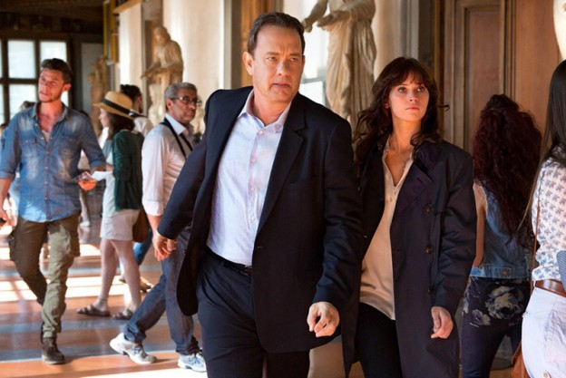 Tom Hanks Felicity Jones Inferno photo