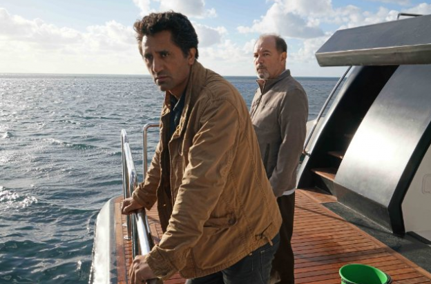 Cliff Curtis and Ruben Blades