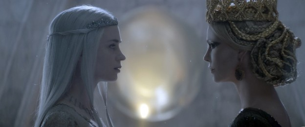 Emily Blunt charlize Theron face to face The Huntsman Winters War