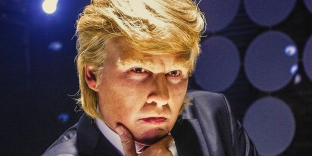 Johnny Depp as Donald Trump in Art of the Deal film