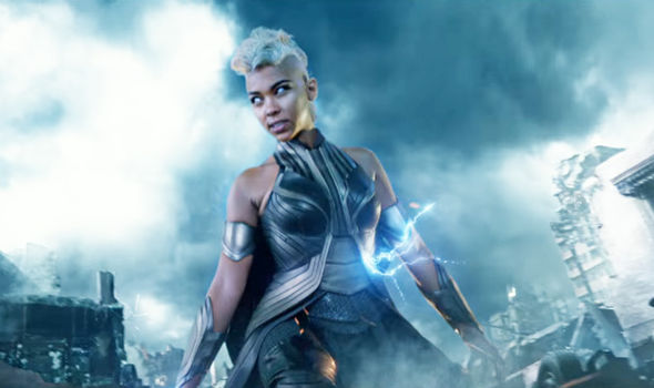"Alexandra Shipp as Storn in ""X-Men: Apocalypse"""
