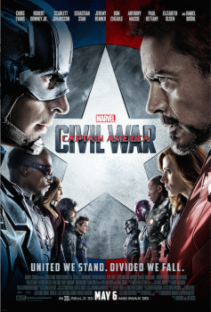 Captain America Civil War face to face team  movie poster