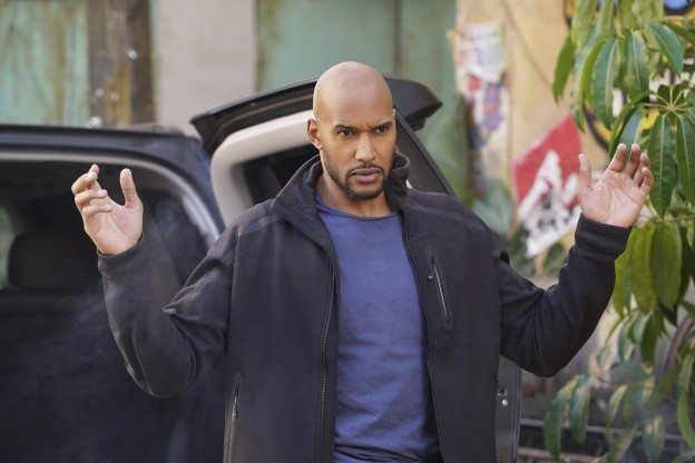 Henry Simmons as Mack Marvels Agents of SHIELD season 3 pic
