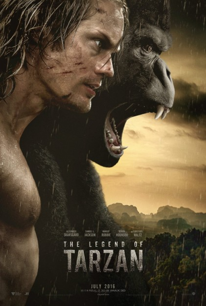 The LEgend of Tarzan alexander skarsgaard movie poster