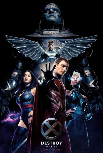 X-Men Apocalypse four horsemen movie poster