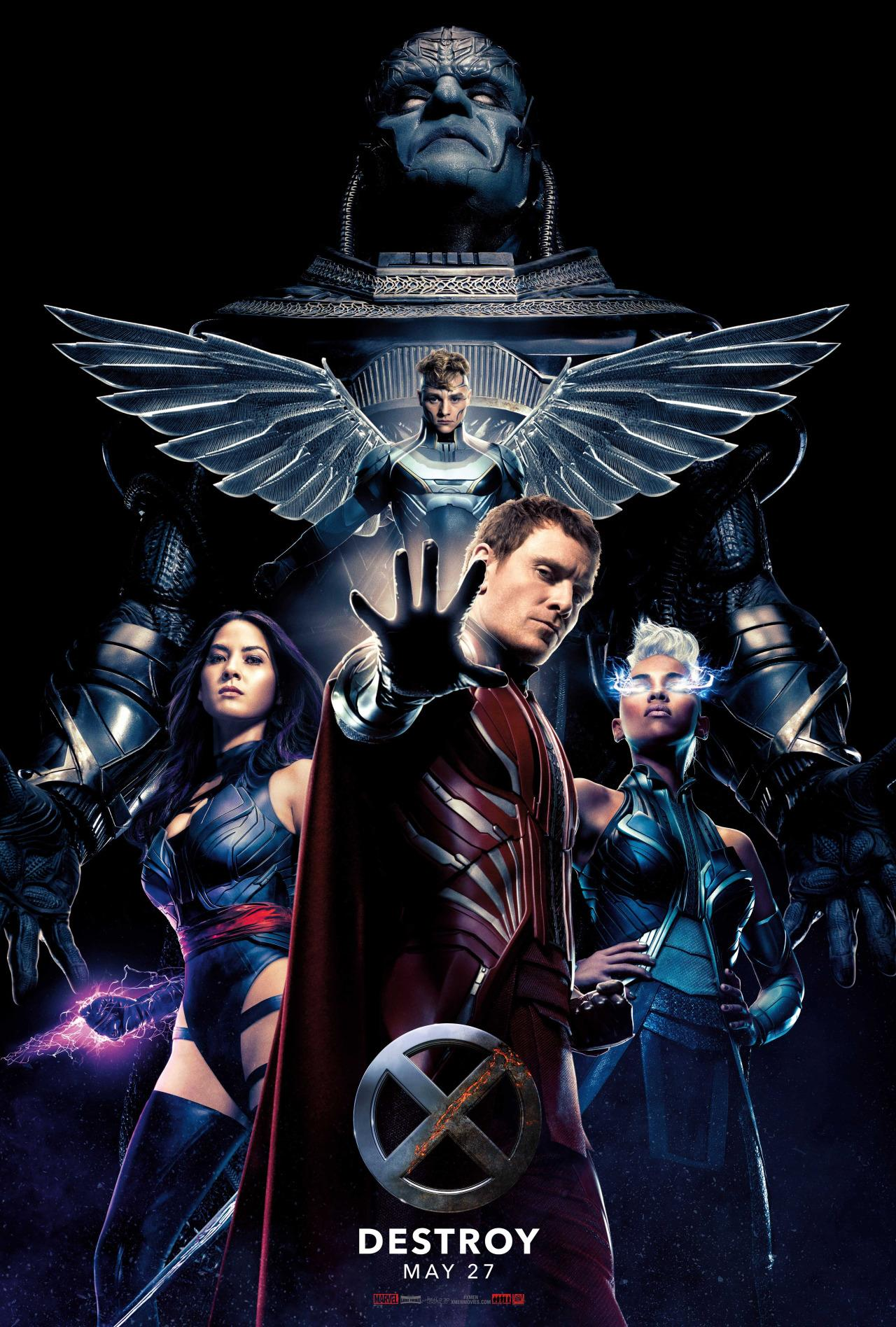 New X Men Apocalypse Poster Showcases Four Horsemen