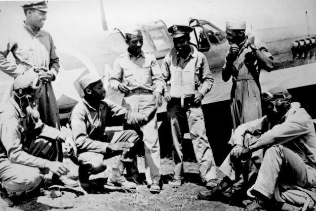 The Tuskegee Airmen (Credit: National Archives and Records Administration)