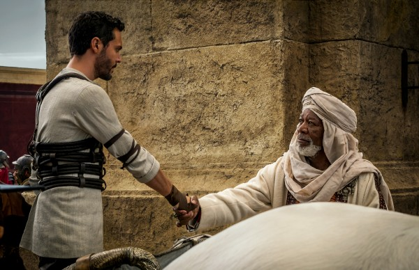 ben-hur-jack-huston-morgan-freeman-movie photo