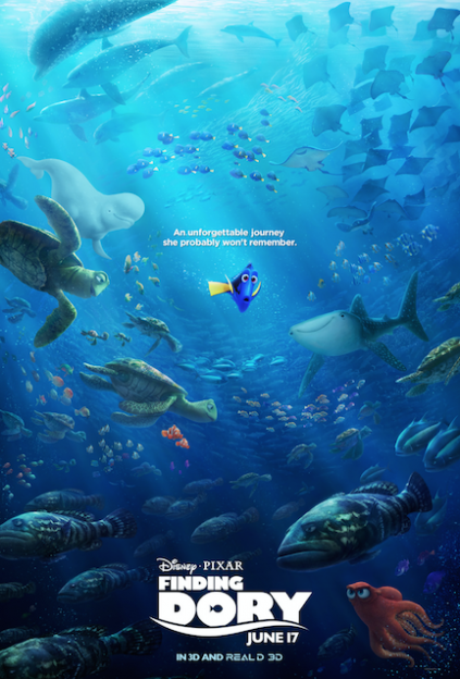 finding dory main movie poster