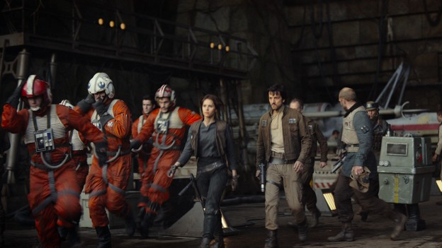 Star Wars Rogue One rebels going to fight