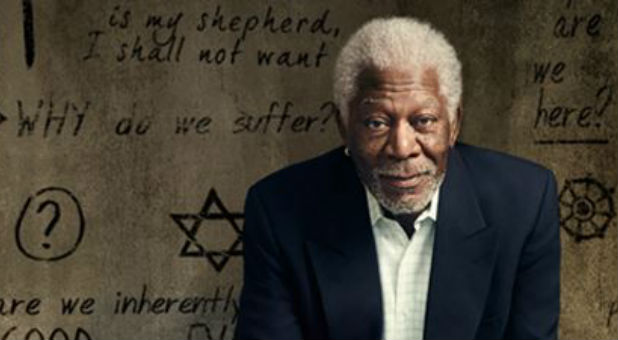 The Story of God Morgan Freeman banner