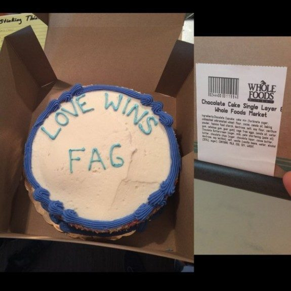 Whole Foods Cake Gay